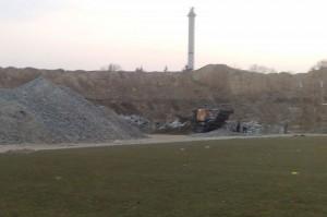 Concasare beton armat stadion Lia Manoliu