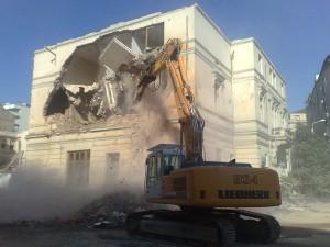 Demolare Spital Coltea